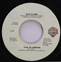 Guy Clark 45 RPM Fool in a Mirror / Homegrown Tomatoes