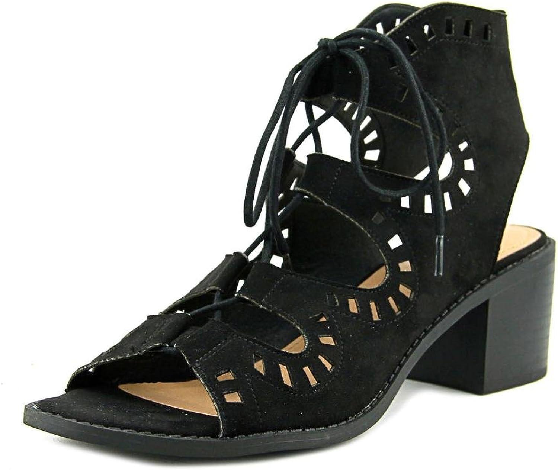 Esprit Lotus Women Open Toe Leather Tan Sandals