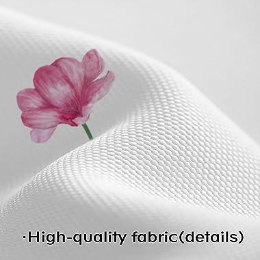 "YellyHommy Watercolor Floral Shower Curtain for Bathroom Bohemian Fabric Plant Bathtubs Decor - 72"" x 72"" - Machine W"