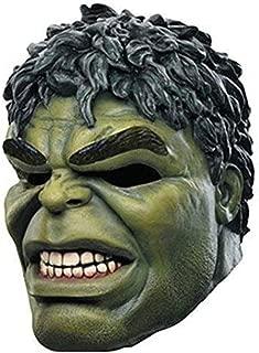 MostaShow Cartoon Hulk Latex Mask Full Actor's Headgear Carnival Cosplay Costume Halloween Masquerade Mask Green