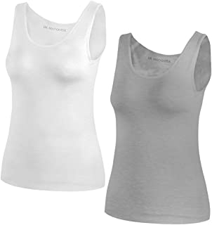 Camisoles with Built-in Shelf Bras, Comfortable Padded Bra Women Cami, Adjustable Straps Tank Top