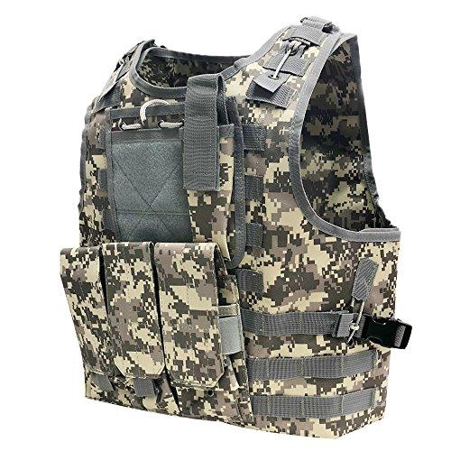 Everlife Shop CS Airsoft Paintball Weste Armee Jagd Prämie Lohnt im Vollen Schutz Taktische Weste mit der Pfändung (CP)