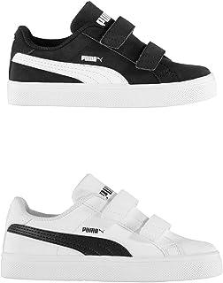 Official Brand Puma Smash Vulc Trainers Infants Boys Shoes Sneakers Kids Footwear