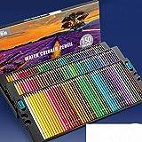 72/120/150/200 Juego de lápices de Colores lápices Opcionales solubles en Agua o aceitosos para Pintar y Dibujar - 150Color Water