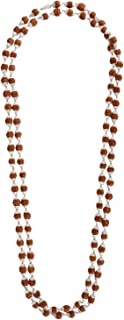 Jewel99 Sterling Silver Platinum Plated Tulsi Mala for Boys/Girls