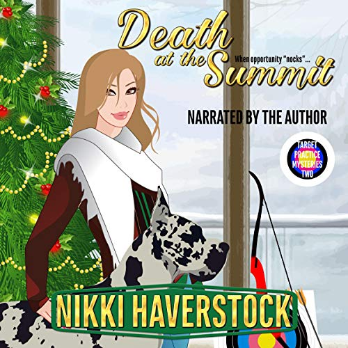 Death at the Summit: Target Practice Mysteries 2 audiobook cover art