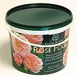 """Rosen-Dünger David Austin """"Rose Food"""" - 2,25 kg Organisch-mineralisch mit Langzeit-Wirkung für gesunde, kräftige Rosen - von Garten Schlüter"""