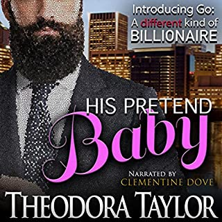 His Pretend Baby audiobook cover art