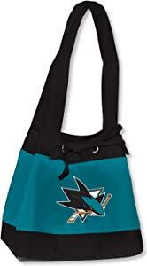 NHL San Jose Sharks Fashion Lunch Bag with Embroidered Logo