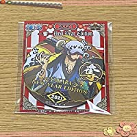 ONE PIECE 海賊袋 2021 紅 缶バッジ 輩 ロー