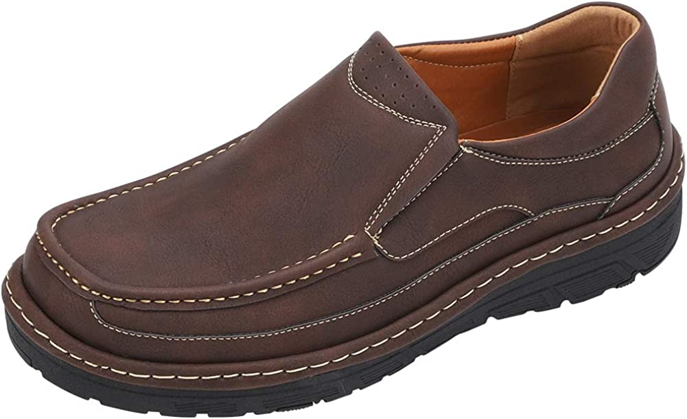 CREPUSCOLO Men's Slip-on Outlet sale feature List price Loafer Classic Shoes Breath Casual Boat