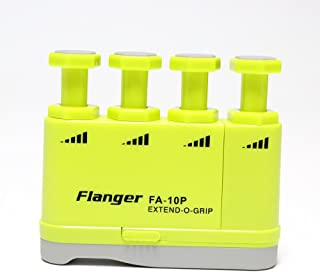 Upgrade Version, Hand Finger Exerciser Strengthener with Adjustable Tensions from 2.5-6 lbs for Musicians, Sports or Therapy, Great Gift for Guitar Beginner Hand Finger Trainer, FA-10P, Yellow