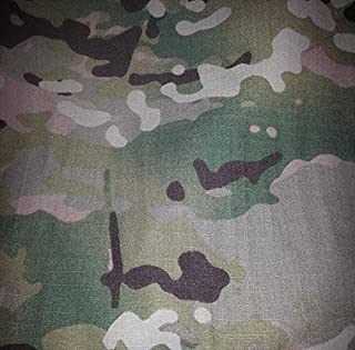 Multicam Camouflage Ripstop Fabric 65 Inch Wide Sold By the Yard