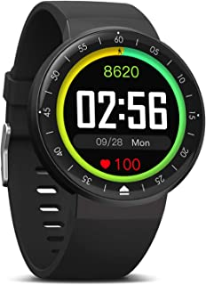 MorePro Smart Watch, 9 Mode Sport Watch IP68 Fitness Tracker with DIY Clock Face Full Touch Screen, 7/24 Activity Tracker Heart Rate Monitor Sleep Monitor Message Reminder for Men Women