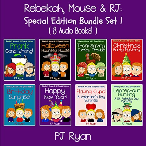Rebekah, Mouse, & RJ audiobook cover art