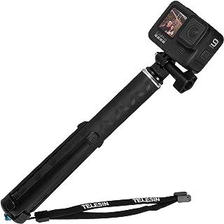 SJCAM Smatree Selfie Stick T/élescopique avec Tr/épied Compatible avec GoPro Hero 9//8//7//6//5//4//3+//3//Session//Fusion //Hero Max //Hero 2018 // OSMO Action Camera AKASO Xiaomi Yi et T/él/éphone Portable