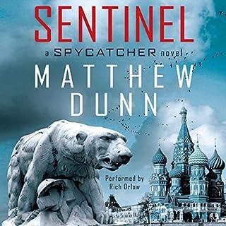 Sentinel audiobook cover art