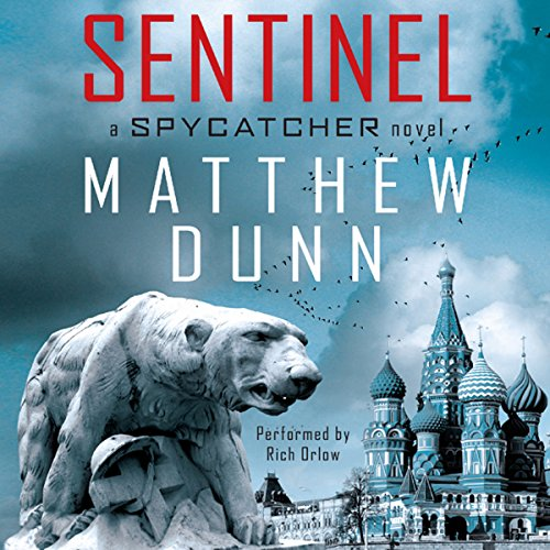 Sentinel audiobook cover art
