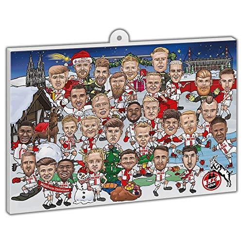 1. FC Köln Comic-Adventskalender Weihnachtskalender 2020