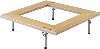 ロゴス(LOGOS) テーブル ウッド囲炉裏テーブル EVO 木製 ピラミッドグリル対応 キャリーバッグ付き