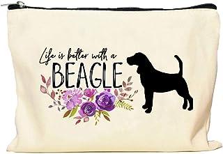 Beagle Life is Better Makeup Bag