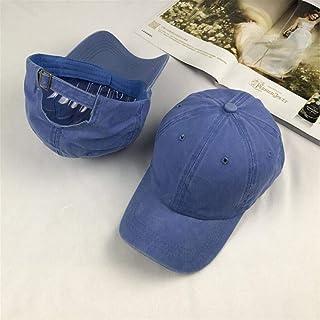 قبعة بيسبول عالية الجودة من القطن المغسول قابلة للتعديل بلون سادة للجنسين قبعة زوجين أزياء أوقات الفراغ أبي قبعة سناب باك