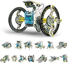 ITOM Educational 14-in-1 Solar Robot Kit | Solar/Sunlight Powered Engine | Science, Technology, Engineering, Mathematics f...
