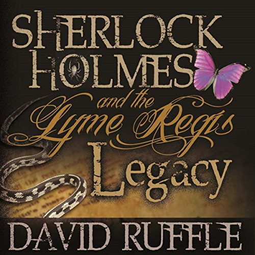 Sherlock Holmes and the Lyme Regis Legacy audiobook cover art