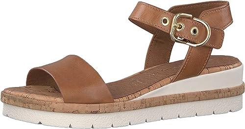 Tamaris 1-1-28222-22 Femme Sandales Plateforme,Sandale,Sandale Plate-Forme,Chaussure d'été,Sandale d'été,Confortable,Semelle d'été,Confortable,Semelle d'été,Confortable,Semelle épaisse,Touch-IT 707