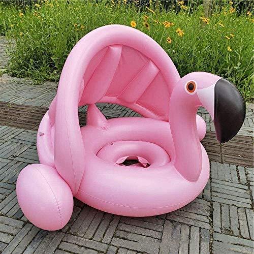 Plegable piscina, piscina inflable, juegos de entretenimiento for niños, Piscina inflable del cielo cisne blanco de los niños, juguetes de jardín juguetes Party (Color: Rosa) peng ( Color : Pink )