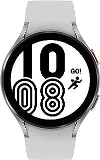 ساعة سامسونج جالكسي 4 44 ملم بلوتوث ، فضي