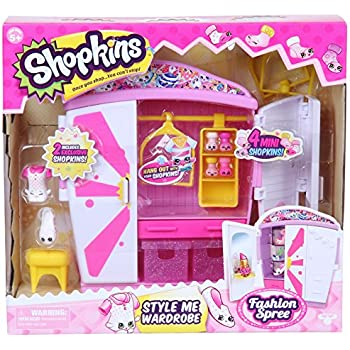 Shopkins Style Me Wardrobe Fashion Playset | Shopkin.Toys - Image 1