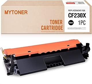 MYTONER Compatible Toner Cartridge Replacements for HP 30X CF230X Laserjet M203d M203dn M203dw Pro MFP M227fdn M227fdw M227sdn 30A (Black, 1-Pack)