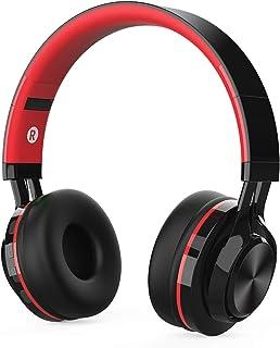 2fff55964c3 Auriculares Bluetooth Inalámbrico con Cancelación Ruido, MeihuaTu sobre  Oreja Audífonos estéreo de HiFi con micrófono