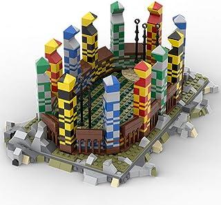 1542 PCS Building Block Compatible with Lego Harry Potter Quidditch Stadium, Puzzle Toy Technic Super Racing RC Car Kit, B...