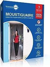 TRANQUILISAFE® Magnetisch vliegengaas voor deuren en ramen, magnetisch vliegengaas, automatisch vliegengaas, geschikt voor...