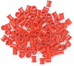 LEGO Technic NEW 100 pcs RED BUSH Bushing Cross Axle Connector Lot Mindstorms NXT EV3 car robot robotics building small Part Piece 3713
