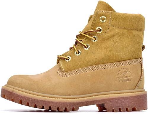 BNMZXNN Bottes pour Femmes Bottes en Cuir Chaussures de Sport en Cuir léger imperméable randonnée randonnée Confortable paniers à mémoire, 35-39,A-36
