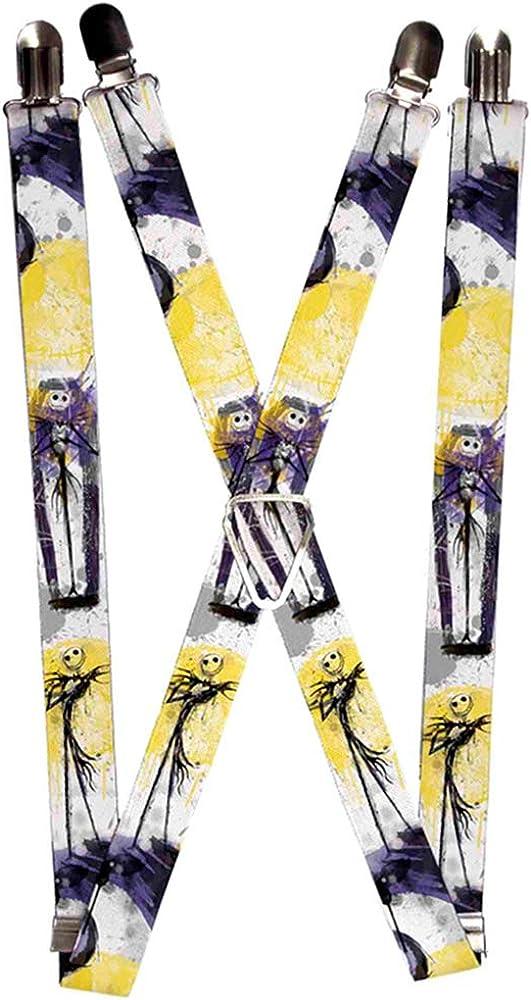 Buckle-Down Suspenders-Nightmare Before Christmas Jack Poses Watercolo