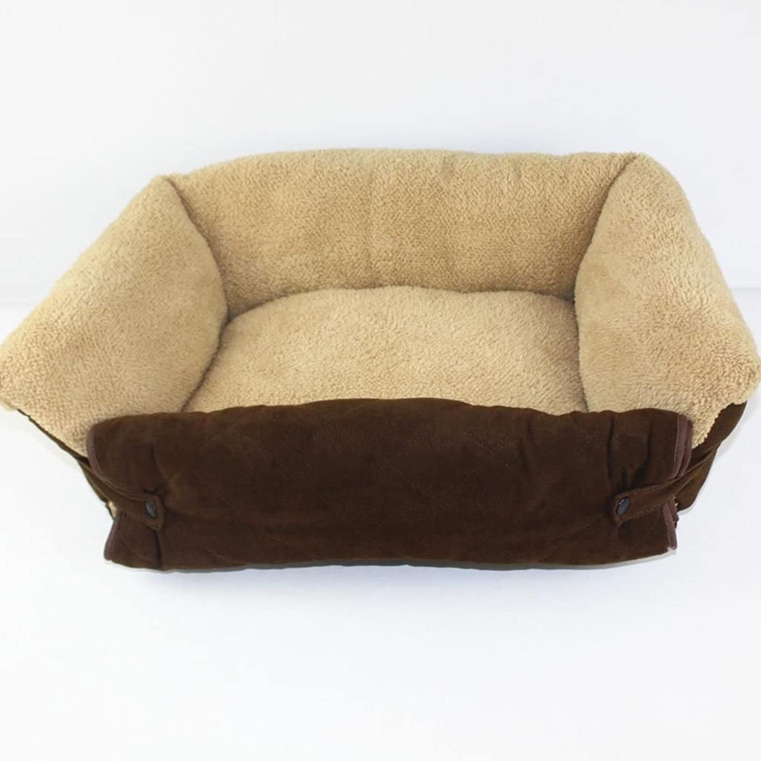 Dog Cat Bed Soft Warm Pet Beds Cushion Puppy Sofa Couch Removable and washable Mat Kennel Pad Furniture