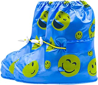 ZQLY Reusable Waterproof Overshoes Shoe Covers Shoes Protector Children's Rain Cover for Shoes Accessories for Shoe Rain S...