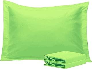 Boudoir Pillow Shams Set of 2 Piece Indoor/Outdoor Soft Travel Pillow Shams Envelope Closure 500 TC 100% Egyptian Cotton (Boudoir 12