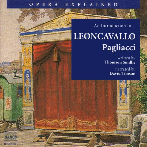 Leoncavallo: Pagliacci audiobook cover art