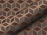 Möbelstoff Dustin FR Muster Abstrakt Farbe braun als