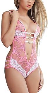 HOOUDO Women Sexy Lace Sleepwear Lingerie Temptation Bra