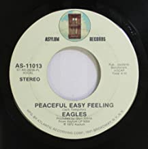 EAGLES 45 RPM PEACEFUL EASY FEELING / TRYING