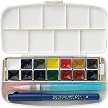 Kuretake Fils Watercolor Set 14 Color Set (Japan Import)