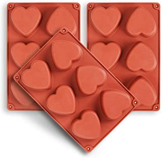 Best silicone heart shaped soap molds Reviews