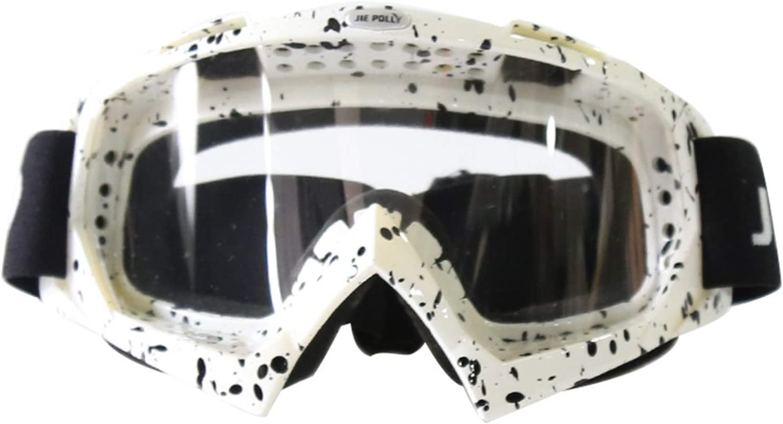 Blisfille Gafas de Deporte Graduadas Gafas Moto Fotocromaticas,Naranja Vistoso