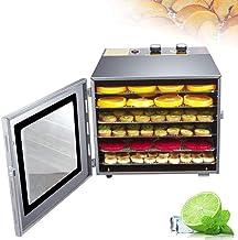 Facile à nettoyer automatique en acier inoxydable séché 6 sèche-alimentaire spécialisé Jerky Maker avec minuterie et contr...
